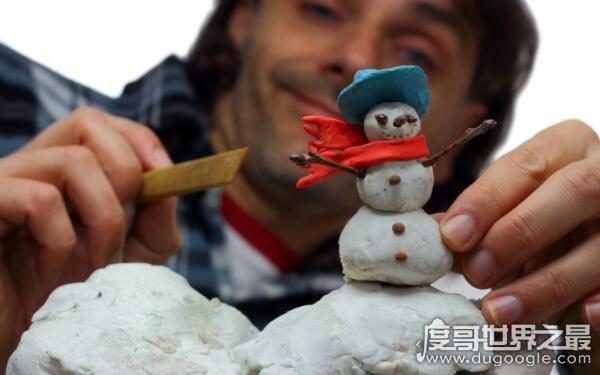 世界上最小的雪人,只有头发粗细的二十分之一(肉眼看不到)