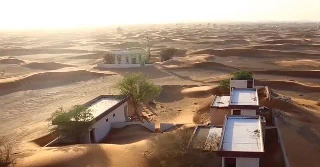 世界上最诡异的村庄,白天出现晚上消失至今无解(沙漠禁区)