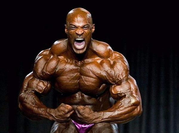 世界上十大强壮之人罗尼•库尔曼 史上最强肌肉型男(健美冠军)