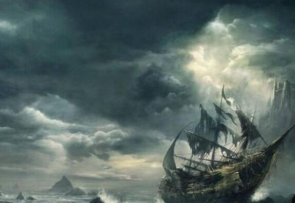 世界十大鬼船都有哪些,幽灵船飞翔的荷兰人号最出名